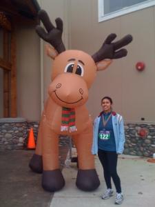 Half Marathon #2 - Reindeer Half - December 2011