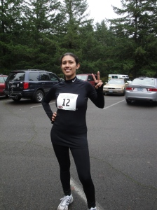Half Marathon Number two - Silver Falls Half-Marathon - November 2010